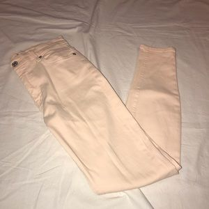 Seven For All Mankind Pink Skinny Jeans Size 25